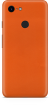 Google pixel 3 true orange skin and wrap. skinz