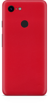 Google pixel 3 true red skin and wrap. skinz