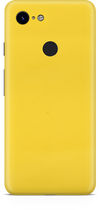Google pixel 3 true yellow skin and wrap. skinz