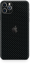 Apple iPhone 11 max pro black carbon fiber SKIN and WRAP. skinz