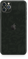 Apple iPhone 11 pro max green camo SKIN and WRAP. skinz