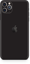 Apple iPhone 11 pro max matte black skin-wrap. Skinz Edmonton