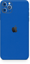 Apple iPhone 11 pro max true blue skin-wrap. Skinz Edmonton