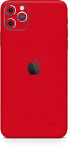 Apple iPhone 11 pro max true red skin-wrap. Skinz Edmonton