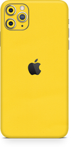 Apple iPhone 11 pro max true yellow skin-wrap. Skinz Edmonton