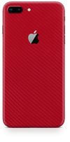 Apple iPhone 7 plus Red Carbon fiber skin and wrap. Skinz
