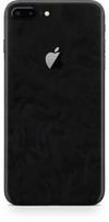 Apple iPhone 8 plus black camo skin and wrap. Skinz