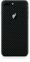 Apple iPhone 8 plus black carbon fiber skin and wrap. Skinz