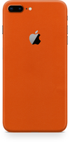 Apple iPhone 8 plus true orange skin and wrap. Skinz