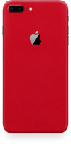 Apple iPhone 8 plus true red skin and wrap. Skinz