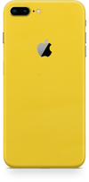 Apple iPhone 8 plus true yellow skin and wrap. Skinz