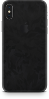 Apple iPhone X max black camo skin and wrap. Skinz