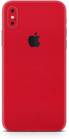 Apple iPhone x max true red phone wrap-skin. skinz Edmonton