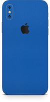 Apple iPhone x true blue phone wrap-skin. skinz Edmonton