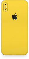 Apple iPhone x true yellow phone wrap-skin. skinz Edmonton