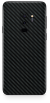 Samsung galaxy s9 plus black carbon fiber SKIN and WRAP. skinz