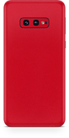 Samsung galaxy s10e true red phone wrap-skin. skinz Edmonton
