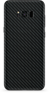 Samsung galaxy s8 black carbon fiber SKIN and WRAP. skinz