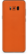 Samsung galaxy s8-s8 plus true orange phone wrap-skin. skinz Edmonton