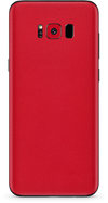 Samsung galaxy s8-s8 plus true red phone wrap-skin. skinz Edmonton