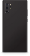 Samsung note 10 plus matte black skin and wrap. Skinz