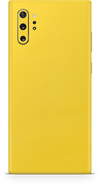Samsung note 10 plus true yellow skin and wrap. Skinz