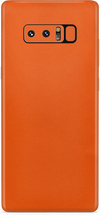 Samsung note 8 true orange skin and wrap. skinz