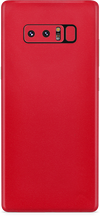 Samsung note 8 true red skin and wrap. skinz