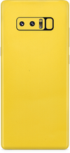 Samsung note 8 true yellow skin and wrap. skinz