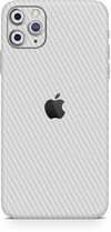 apple iPhone 11 pro max white carbon SKIN WRAP. skinz Edmonton