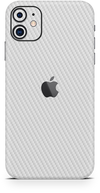 apple iPhone 11 white carbon SKIN WRAP. skinz Edmonton