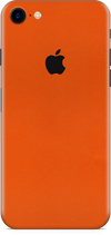 Apple iPhone 7 true orange skin and wrap. Skinz