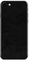 Apple iPhone 8 black camo skin and wrap. Skinz