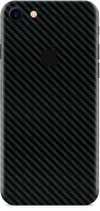 Apple iPhone 8 black carbon fiber skin and wrap. Skinz