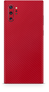 Samsung note 10 plus red carbon fiber skin and wrap. Skinz
