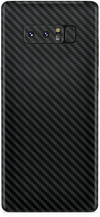 Samsung note 8 black carbon fiber skin and wrap. skinz