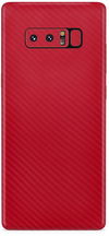 Samsung note 8 red carbon fiber skin and wrap. skinz