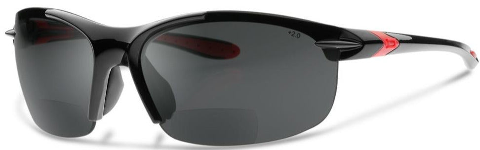 NEW, UPGRADED DESIGN SL2-X BIFOCAL POLARIZED SUNGLASSES – READING SUNGLASSES WITH A WRAP-AROUND FIT DESIGNED FOR CYCLING AND SPORTS