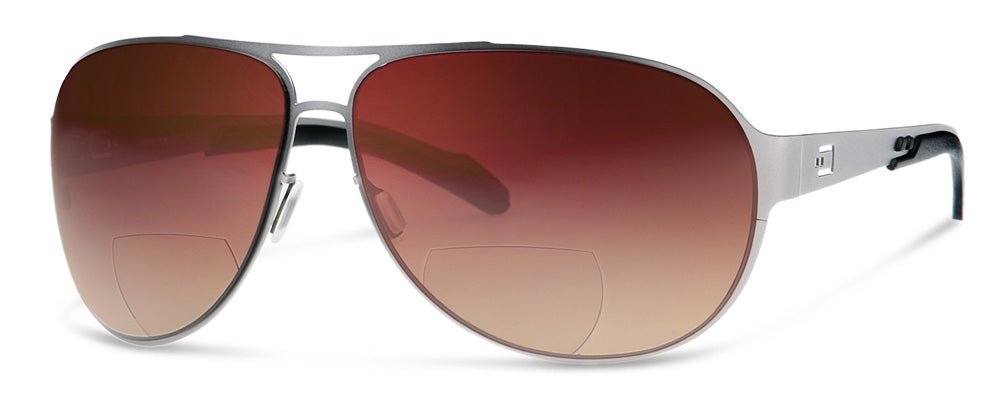 AV2 - Bifocal Reading Sunglasses | Wrap-Around Sun Readers Designed for Pilots and Casual Wear