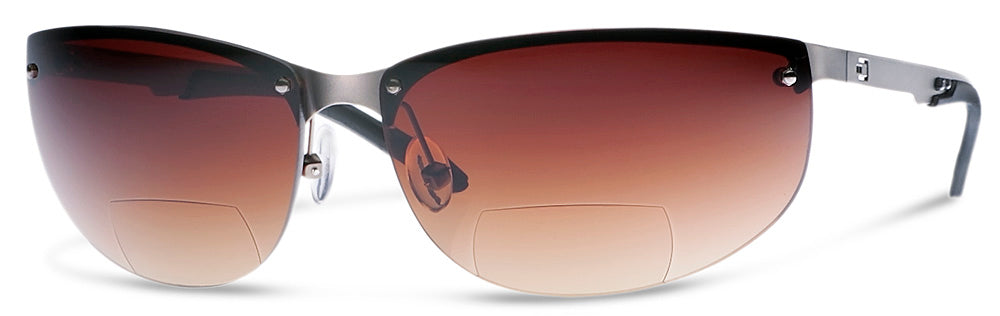 NV1 - Bifocal Reading Sunglasses | Wrap-Around Sun Readers Designed for Pilots and Casual Wear