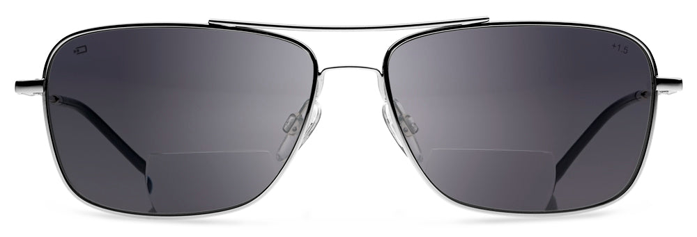 Q1 - Bifocal Reading Sunglasses | Classic Style Sun Readers Designed for Pilots and Casual Wear