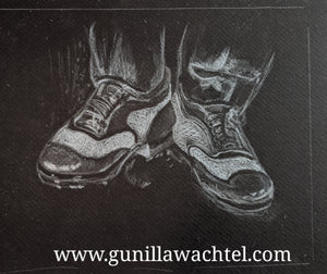 Work in progress update, shoes art study