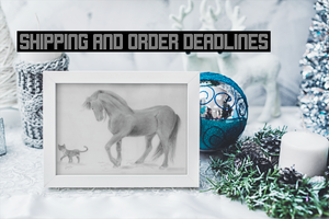 Shipping and order deadlines