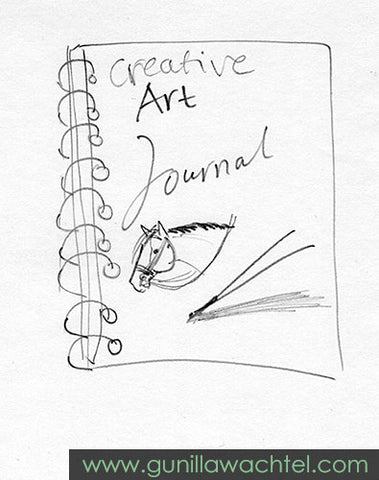 creative journal - Gunilla Wachtel