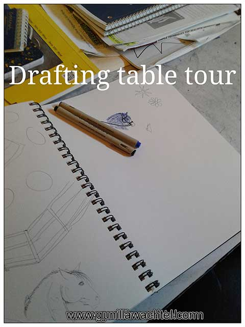 Drafting Table - Kanweienea Kreations