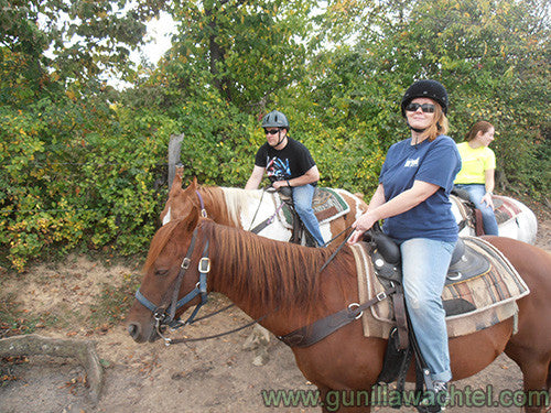 Gunilla Wachtel Trail ride Horseback Riding Kanweienea Kreations