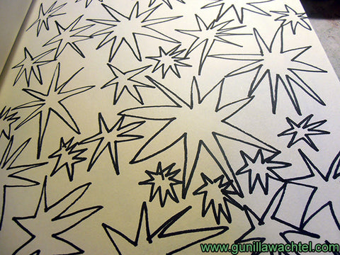 Sketchbook Starry Shapes Gunilla Wachtel