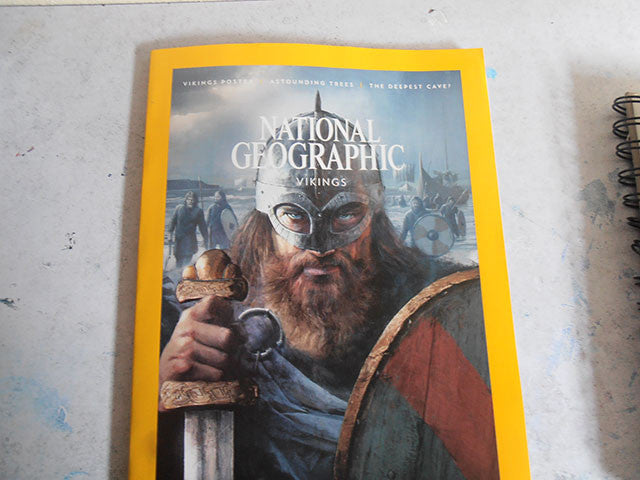 Picture of National Geographic Magazine - Viking Issue