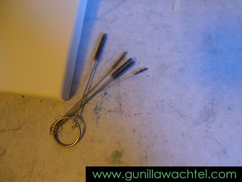Some of my airbrush cleaning supplies - Gunilla Wachtel