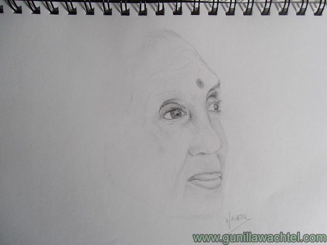Artwork in progress - sketch study- final - Gunilla Wachtel